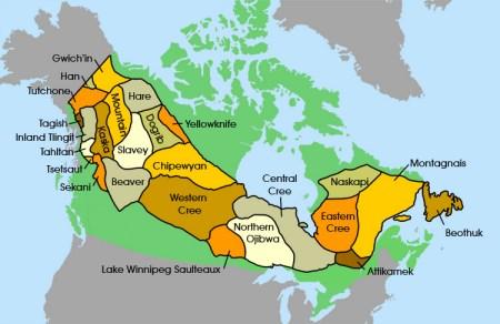 Indiani tribu del nord