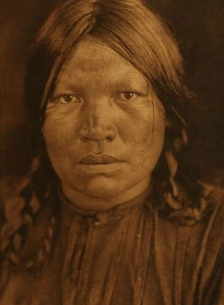 Una donna Chipewyan