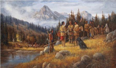 Primi incontri con commercianti e cacciatori bianchi