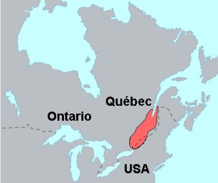 Territorio degli Irochesi del San Lorenzo ai tempi di Jacques Cartier