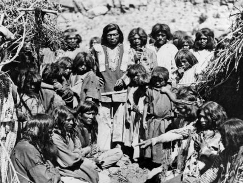 Un gruppo di Paiute