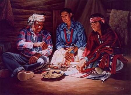 Una cerimonia in ambito familiare